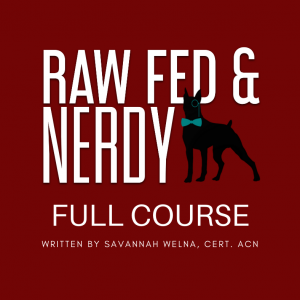 dog nutrition course free