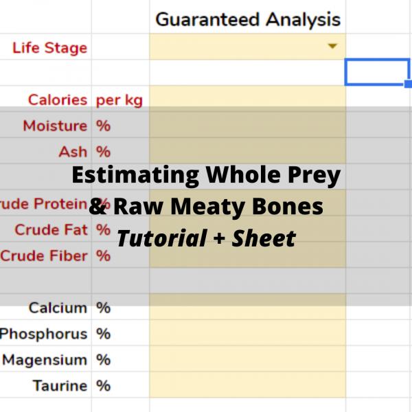 whole prey rmb estimate